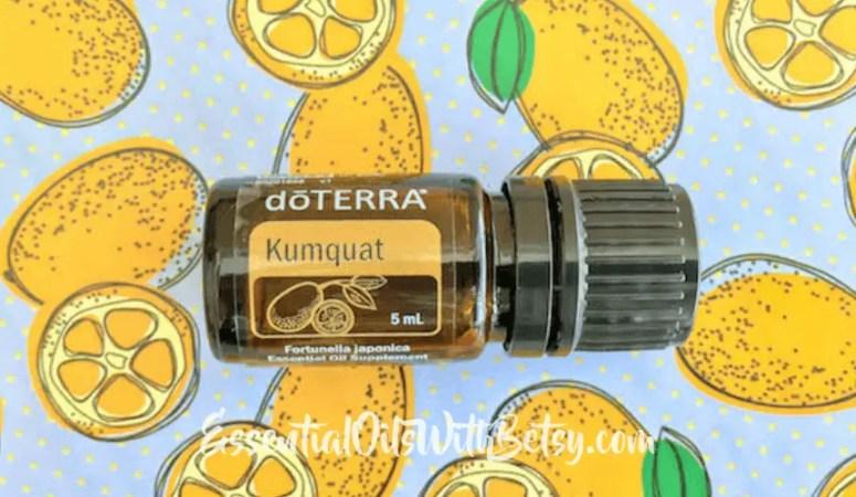How To Use doTERRA Kumquat Essential Oil