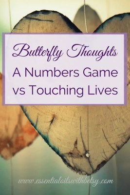 Numbers Game vs Touching Lives