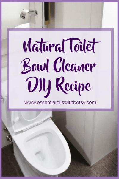 Natural Toilet Bowl Cleaner DIY Recipe