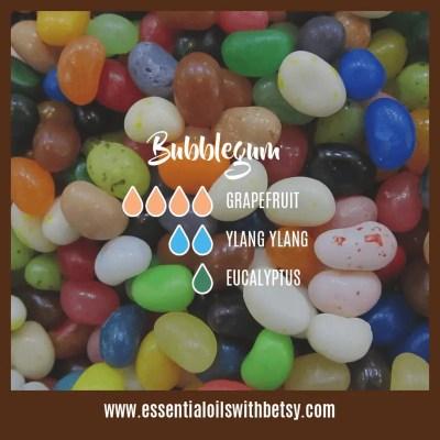 Bubblegum Diffuser Blend: Grapefruit, Ylang Ylang, Eucalyptus