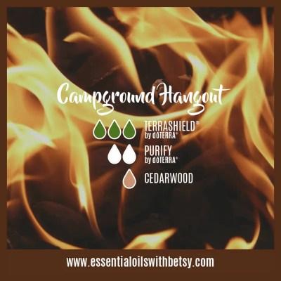 Campground Hangout: Terrashield, Purify, Cedarwood