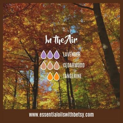 In The Air: Lavender, Cedarwood, Tangerine