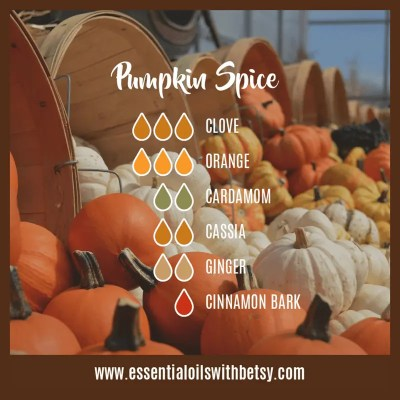 Pumpkin Spice Diffuser Blend For Fall: Clove, Orange, Cardamom, Cassia, Cinnamon