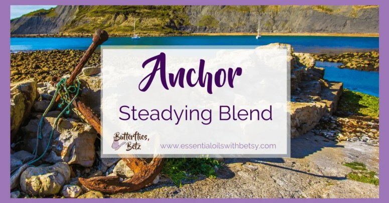 doTERRA Steadying blend   doTERRA Anchor Steadying Blend An exciting announcement from the doTERRA 2017 convention today is the release of new essential oils. One of these is a blend of essential oils called Anchor.