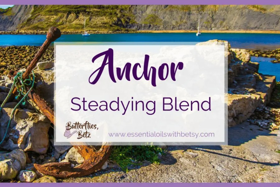 doTERRA Steadying blend | doTERRA Anchor Steadying Blend An exciting announcement from the doTERRA 2017 convention today is the release of new essential oils.  One of these is a blend of essential oils called Anchor.
