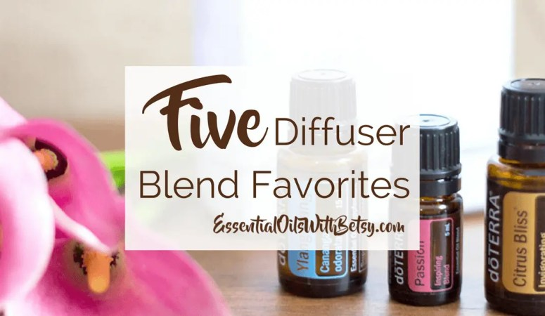 5 Favorites Diffuser Blend Collection