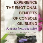 Have you ever tried doTERRA Console comforting oil blend?  It's an essential oil blend that I feel everyone should have on hand.  Just in case.  We never enjoy experiencing sad feelings!  But I find that Console comforting oil blend is often what I need when I am having a rough day.  I'm so thankful we have an emotional blend for comfort when we experience sad feelings!