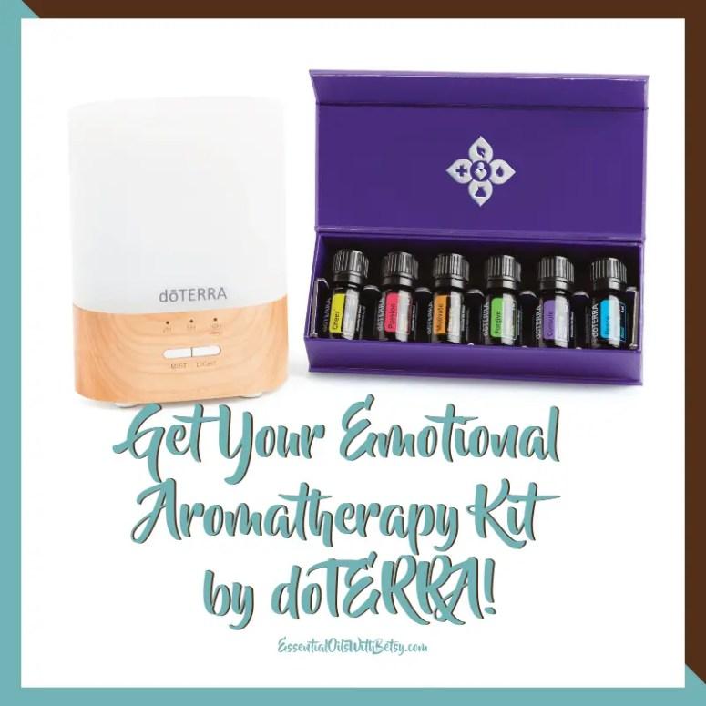 """Get emotional aromatherapy kit by doterra"