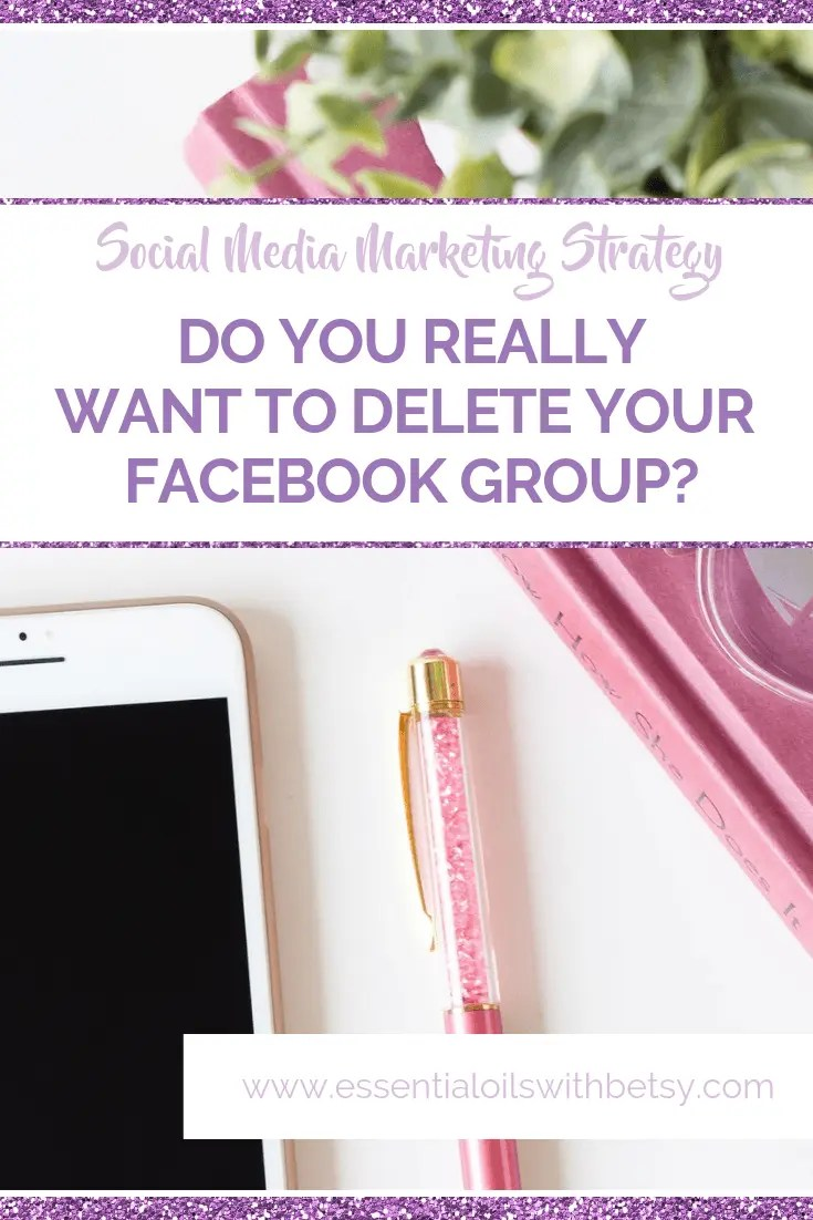 What do you do with your old direct sales Facebook group when you stop selling? You'd have 3 choices! It's up to you to decide. You could delete all members and remove yourself. Or you could archive your old Facebook group. And this last option is what many direct sellers are doing when they leave their brands! Keep it active as a community and look for other ways to use the community.
