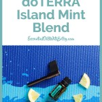 How to use doTERRA Island Mint Father's Day Blend 2019 | The brand new 2019 Father's Day doTERRA Island Mint blend is here! Are you ready? In this blog post, I'll be sharing details of the doTERRA Father's Day set for 2019, and how to use the Island Mint essential oil blend. Keep reading for the good stuff.