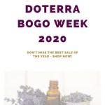 doterra bogo week 2020