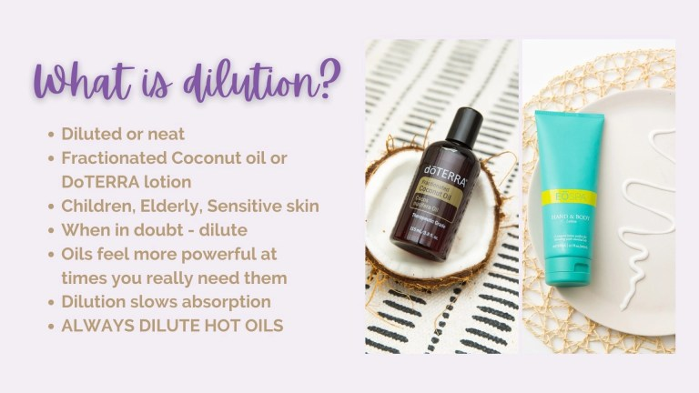 What Is Essential Oil Dilution?