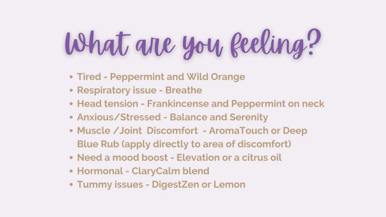 Which Essential Oils Should I Use?