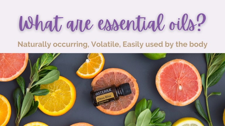 What are essential oils online class: Let's Meet The Essential Oils