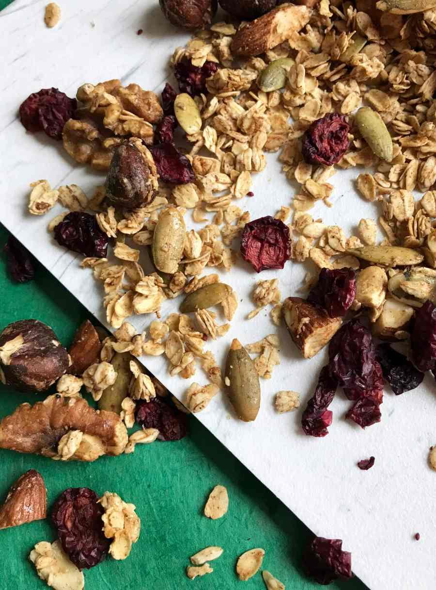 Air Fryer Gluten-free Granola | Essential Omnivore