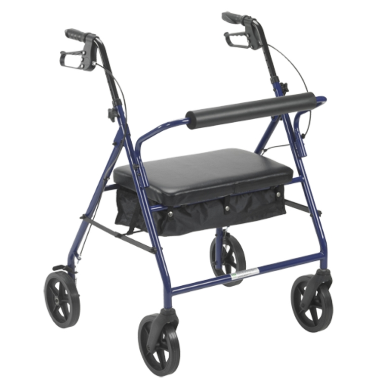 Bariatric 4 Wheel Rollator