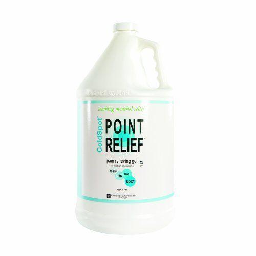 Point Relief Coldspot Pain Relief Gel Pump, 128 Oz