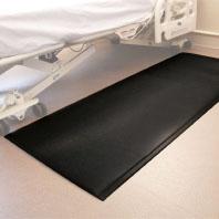 Protekt Beveled Floor Mat, 24″x70″x0.7″, BROWN, EACH
