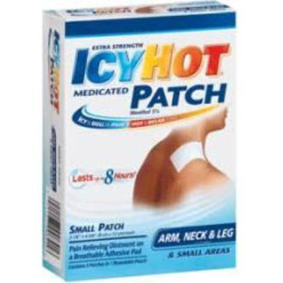 Icy Hot 5% Pain Reliever Patch For Arm, Neck, & Small Areas, PACK OF 5