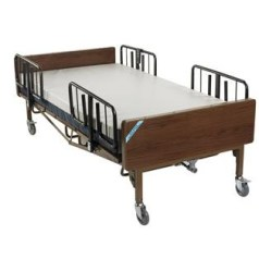 80″ Full Electric Bariatric Bed And Mattress Package, 600 Lb