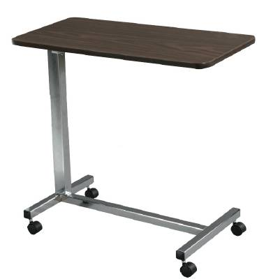 Over Bed Non-Tilt Table With Adjustable Handle, EACH