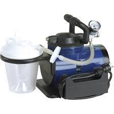 Heavy- Duty Suction Machine With Portable Pump