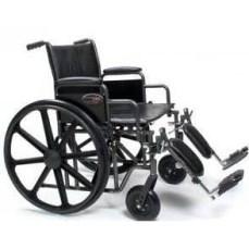 Bariatric Wheelchair Traveler HD 24 Inch,500 Lb