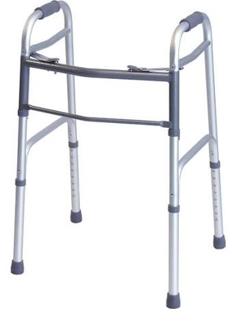 Everyday Dual Release Folding Walker Adjustable Height Lumex, CASE OF 4