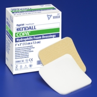 2″x2″ Non-Bordered Square Foam Dressing, CASE OF 100