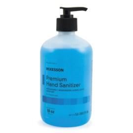 Premium 18 Oz Hand Sanitizer Pump Bottle, CASE OF 12