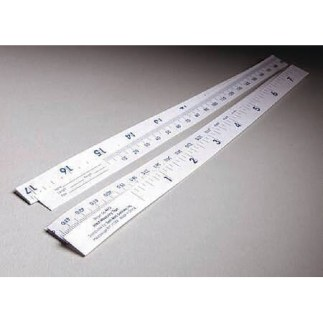 36″ Paper Disposable Tape Measure, CASE OF 1000