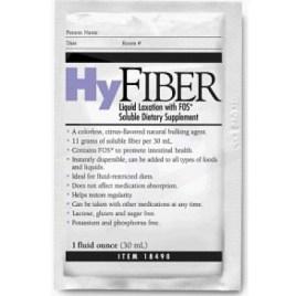 HyFiber Liquid Packets, 1 Oz, CASE OF 100