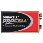Duracell ProCell Batteries, 9 Volt Coppertops, CASE OF 72
