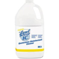 Lysol Brand LC Quaternary Disinfectant Cleaner, 64 Oz,CASE OF 4