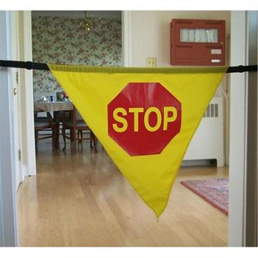 Adjustable Stop Banner 60″ Door Opening, Nylon