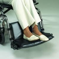 Econo Footrest 2″ Extender, Fits 16″-18″ Wheelchair, EACH