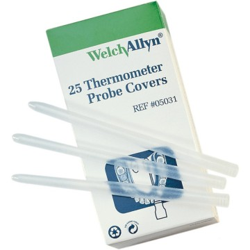 SureTemp Plus 692 Oral/Rectal Thermometer Probe Covers, BOX OF 250