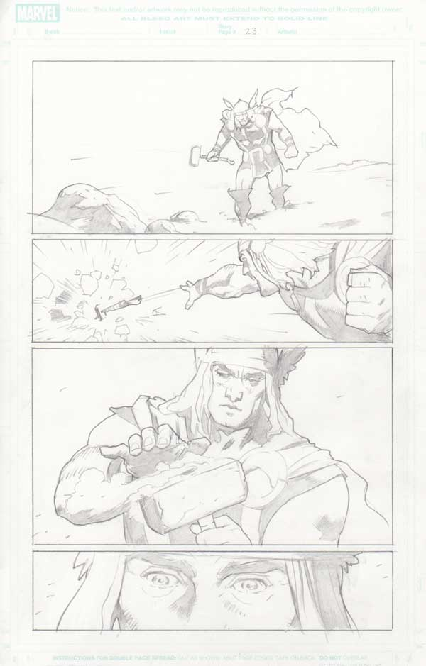 Trial of Thor #32 p.23 by Cary Nord-9227
