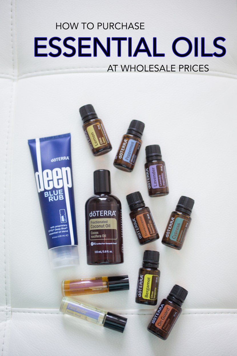 How to Purchase Essential Oils at Wholesale Prices