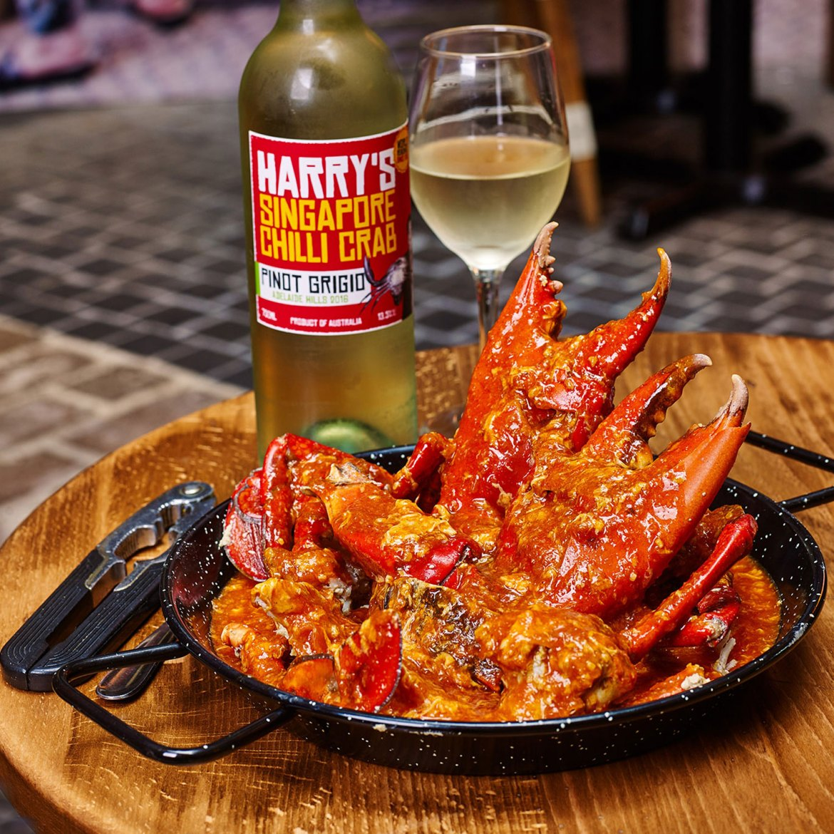 Harry's Singapore Chilli Crab