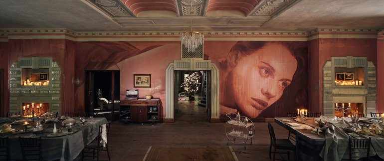 Rone: 'Empire' at Burnham Beeches - Art-Deco dining room