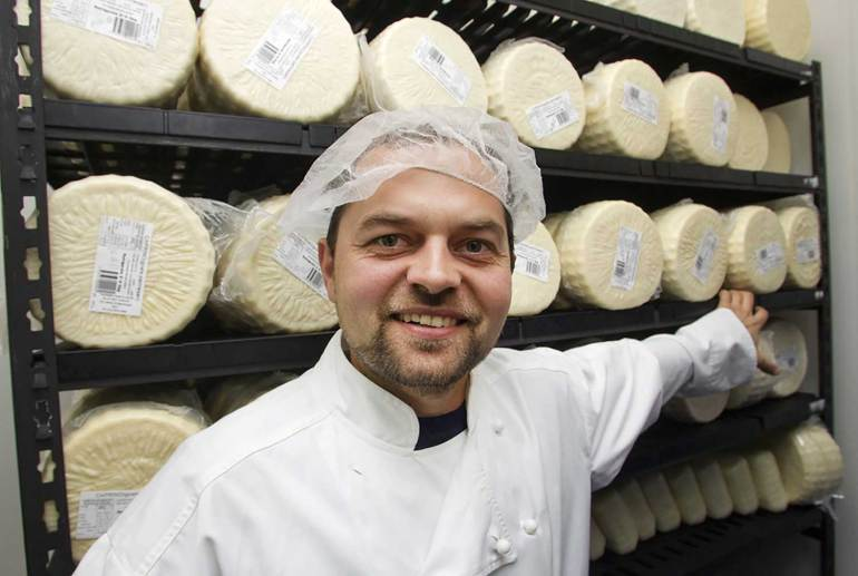 Blue Bay Cheese, owner/cheesemaker Andre Kogut