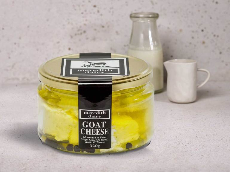 Meredith Dairy, Marinated Feta Sheep and Goat Milk Blend. Champion Fresh - Cheese & Dairy