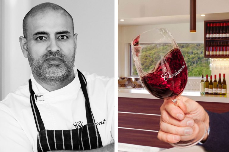 Head Chef Armit Kumar; Italian varietal wines feature at Chrismont