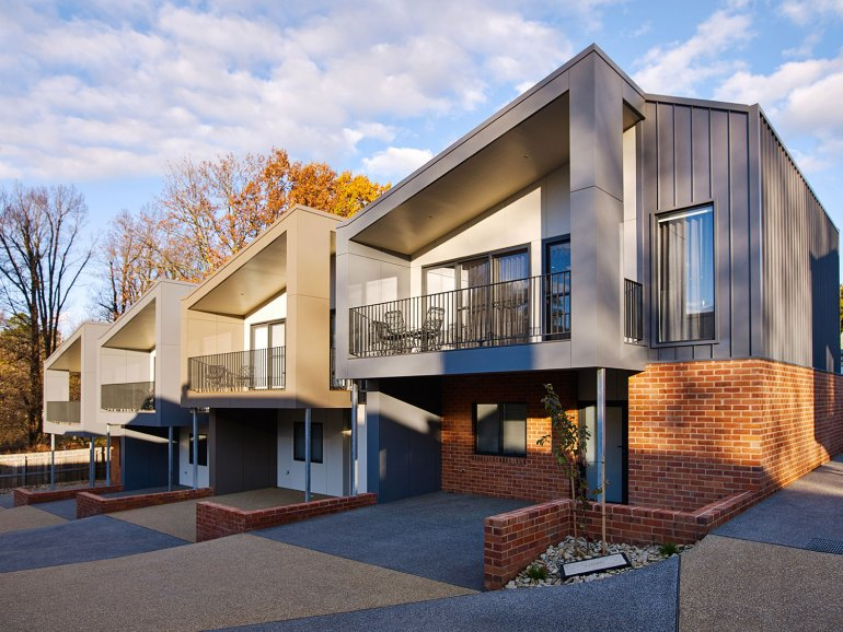Art House Townhouses Exterior View