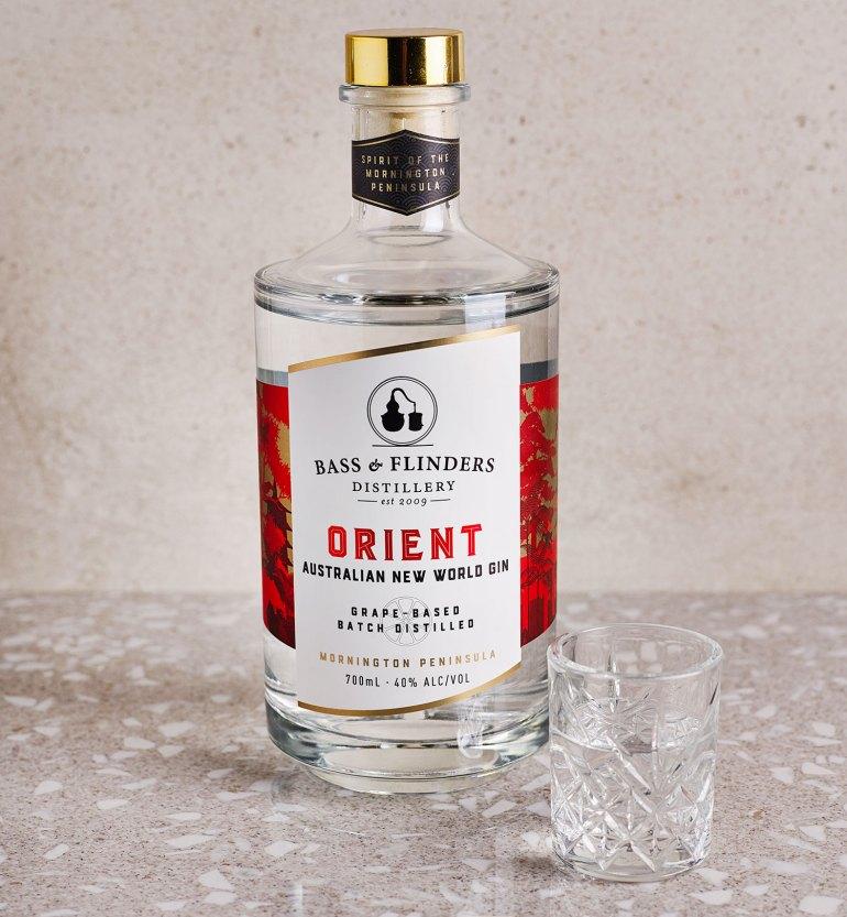 Bass & Flinders Orient Australian New World Gin