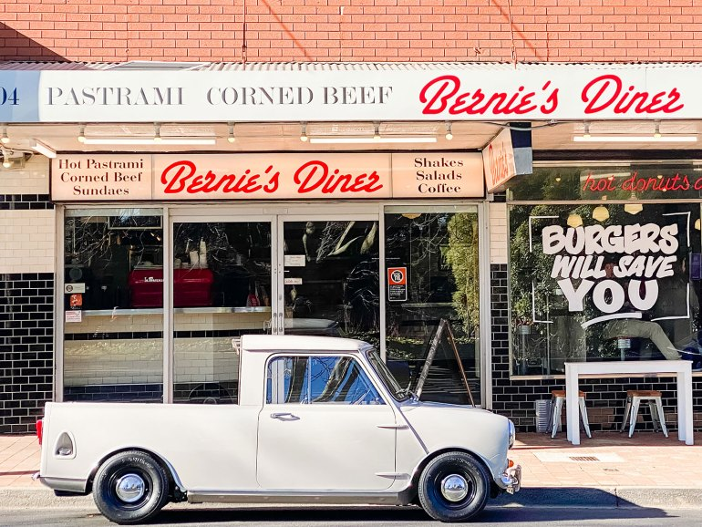 Benie's Diner - this American style diner is a multi-generational icon