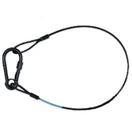 safety wire 4mm x 665mm Max 35kg. Rigging wires at