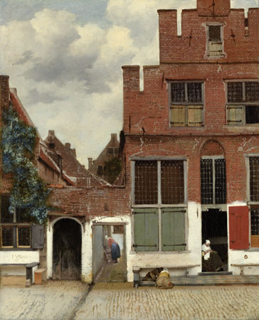 The Little Street, Johannes Vermeer