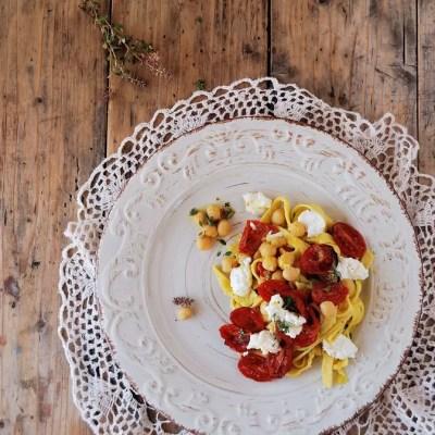 Legumi e tagliatelle ai ceci per Taste Abruzzo….